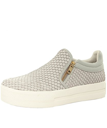 Ash Women's Jordy Python Effect Leather Trainers UK 7 Marble