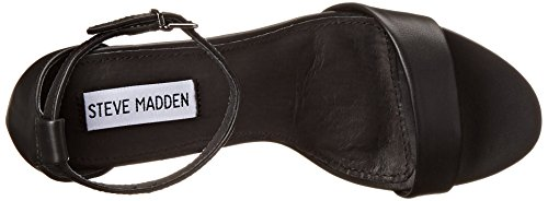 Steve Madden - Silly, sandalo Donna Nero (Black)