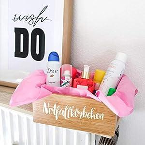 Notfallkörbchen Hochzeit - Aufkleber/Sticker selbstklebend