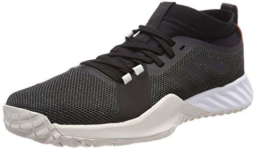 adidas Herren Crazytrain Pro 3.0 TRF Fitnessschuhe, Grau (Carbon/Core Black/Talc), 45 1/3 EU (Pro Core Herren)
