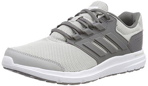 adidas Damen Galaxy 4 Laufschuhe, Grau (Grey Two F17/Grey Four F17/Matte Silver), 37 1/3 EU