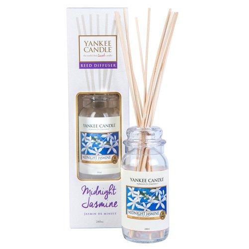 YANKEE CANDLE Bougie parfumée Jasmin Diffuseur Classique, en Bois, Multicolore