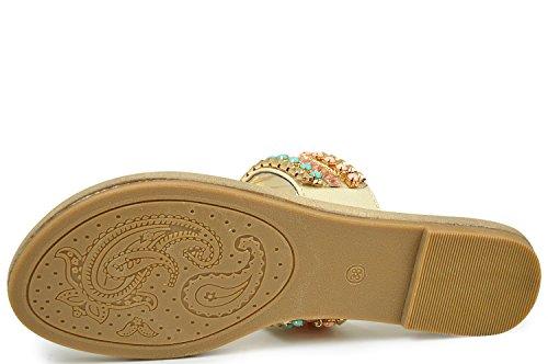 Scarpa linea dubaï sandales, sandales pour femme beige Beige - Beige