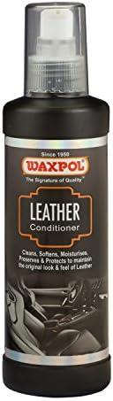 Waxpol Leather Conditioner 200 ml, ALC915, black/grey