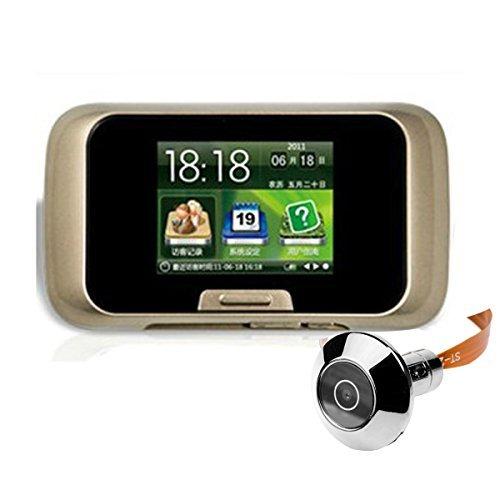 """eme ETS EMEBAY - 2.8"""" numérique Viewer Porte Porte Caméra de sécurité, 2.8"""" Judas numérique avec écran LCD à Placer sur Une Porte"""
