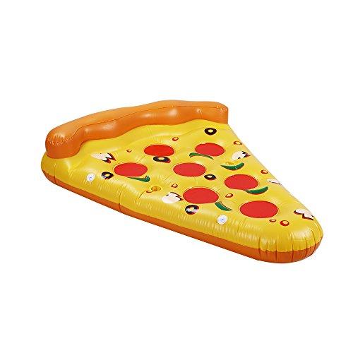 PlayMaty Float Raft Aufblasbare Pizza Schwimmer Sommer Schwimmbad Spielzeug für Erwachsene und Kinder