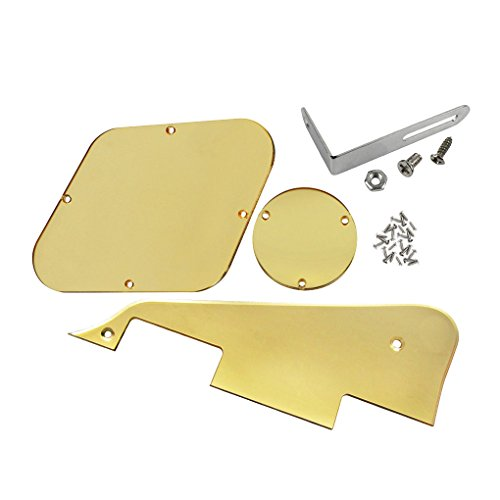 ikn-1-set-pickguard-cavity-switch-covers-halterung-schrauben-fur-lp-guitar-style-1-ply-golden-mirror