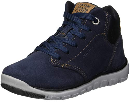 Geox Jungen J Xunday Boy A Chukka Boots, Blau (Navy/Black C0045), 34 EU