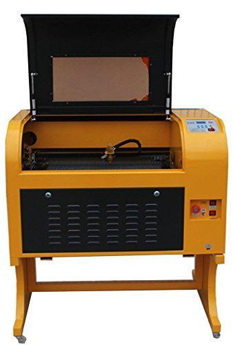 TEN-HIGH UPGRADED VERSION LINEAR GUIDECO2 60W 220V LASER ENGRAVING CUTTING MACHINE WITH USB PORT READY TO USE!