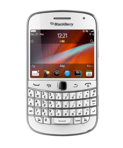 Blackberry Bold 9900 Smartphone (7,1 cm (2,8 Zoll) Touchscreen, 5,1 Megapixel Kamera, QWERTZ) weiß