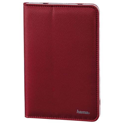 Price comparison product image Hama - Strap Portfolio for tablets up to 17.8 cm (7), red - Red - Polyester (1 Accessories)