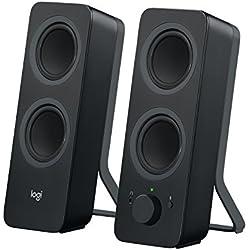Logitech Z207 - Haut-parleurs Bluetooth/PC - Noir