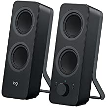 Logitech Z207 - Altavoces Bluetooth para PC, color negro