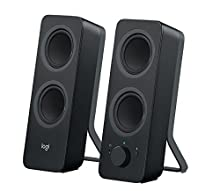 Logitech Z207 Altoparlanti per PC Wireless Bluetooth, Audio Stereo, 10 Watt, Ingresso Audio 3.5 mm, Jack per Cuffie, Multidispositivo, Easy Switch, Presa EU, ‎PC/TV/Smartphone/Tablet, Nero