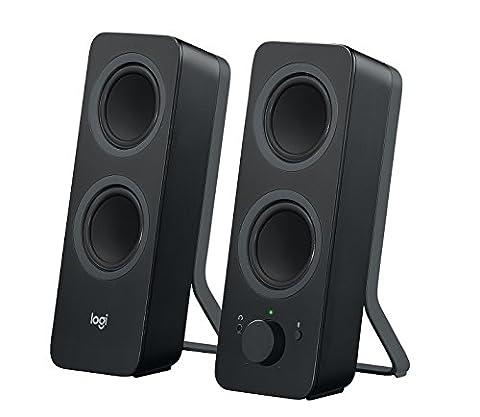 Logitech Z207 Bluetooth-Lautsprecher (PC-Lautsprecher) schwarz (Pc Stereo Lautsprecher)