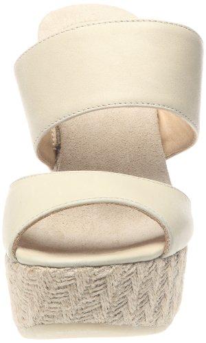 Sax 51810 Damen Pantoletten Beige - Blanc cassé (Mallows off white)
