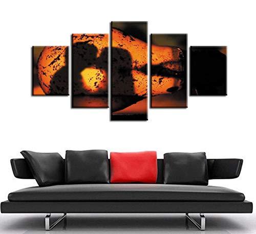 Panel Poster Schlafzimmer Serie (ACCEY Leinwanddrucke Poster Serie 5 Stück Modernen Stil Günstige Bilder Dekorative Wandkunst Drucke Geschenk, Ungerahmt 20X35 20X45 20X55 cm)