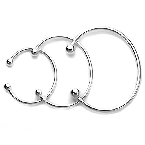 Solid Sterling Silver Torque Bangle Baby Maiden Adult