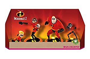 Bullyland Incredibles 2 Gift Box with 4 Figures 4-9 cm Mini