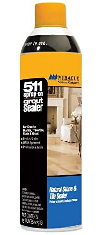 Miracle Sealants GRT SLR AERO SG 511 Spray On Grout Sealer, 15-Ounce by Miracle Sealants
