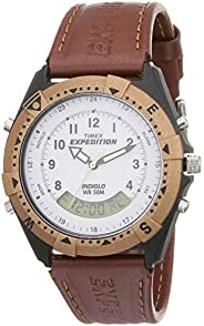 TIMEX Expedition Analog-Digital White Dial Men's Watch-TW00M