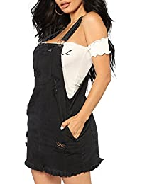 quality design fb475 e8c5f Amazon.it: salopette jeans donna: Abbigliamento