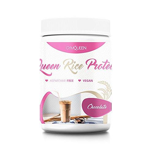 Reis-protein-konzentrat (GymQueen Queen Rice Protein (500g Dose) Reis Protein, Eiweiß (Schoko))