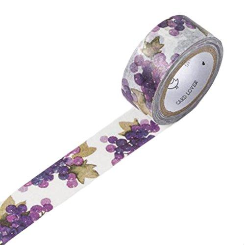 Trauben-wand-dekoration (Japanische Art-DIY Album Bonrollen Wand Masking Tape-Traube)