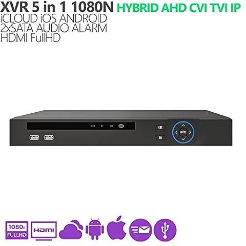 DVR xVR hybride 5en 11080N AHD CVI TVI IP HDMI
