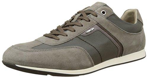 Geox U Clemet B, Sneakers Basses Homme Beige (Taupec6029)