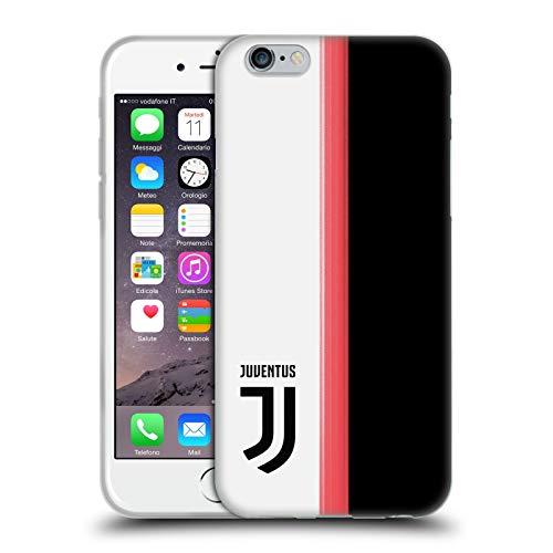 Head Case Designs Offizielle Juventus Football Club Home 2019/20 Race Kit Soft Gel Huelle kompatibel mit iPhone 6 / iPhone 6s