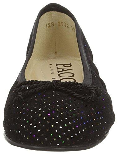 Paco Gil P2932, Ballerines femme Multicolore - Mehrfarbig (Black/Multi)