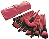 Best Mineral Makeup Kits - Dream Maker® 24 Piece Makeup Brush Set (Pink) Review