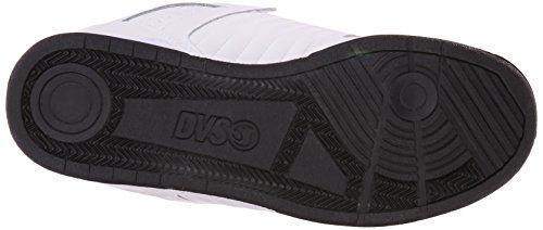 DVS Celsius, Chaussures de skateboard homme cuir blanc