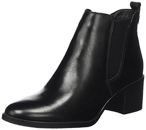 Tamaris Damen 25043 Chelsea Boots, Schwarz (Black), 38