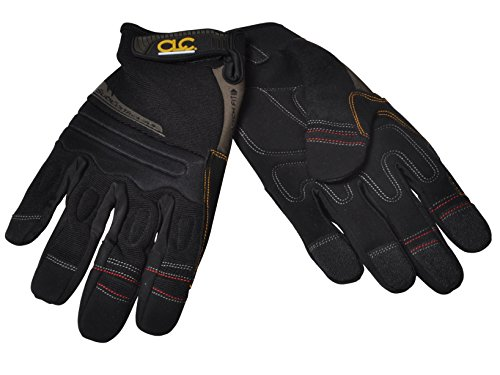 CLC KUNYS SubContractor FlexGrip Padded Safety Work Gloves Extra Large KUN130XL