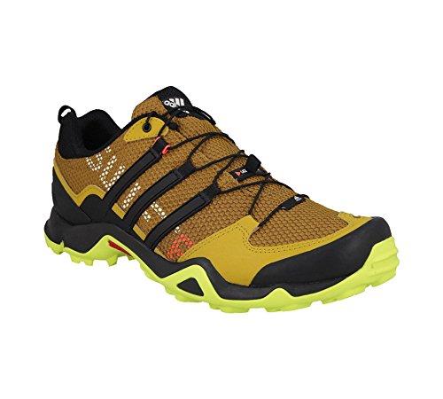 Adidas Outdoor Terrex Swift R Randonnée Chaussures - Noir / Gris vista / blanc 6 Gold Ochre / Solar Yellow / Raw Ochre