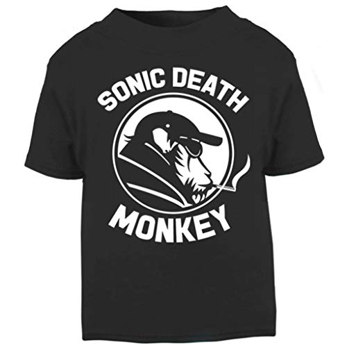 High Fidelity Sonic Death Monkey Baby and Toddler Short Sleeve T-Shirt