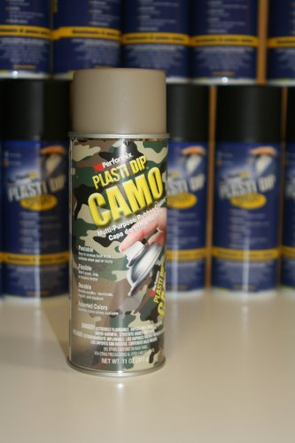 PLASTI DIP SPRAY CAMO BEIGE 311 GR 11Oz. 100% ORIGINALE AMERICANO - Performix Plasti Dip