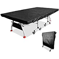 Funda para tenis de mesa, impermeable, resistente al viento, tela Oxford, para mesa de ping pong, cubierta de mesa de ping pong, 280 x 150 cm
