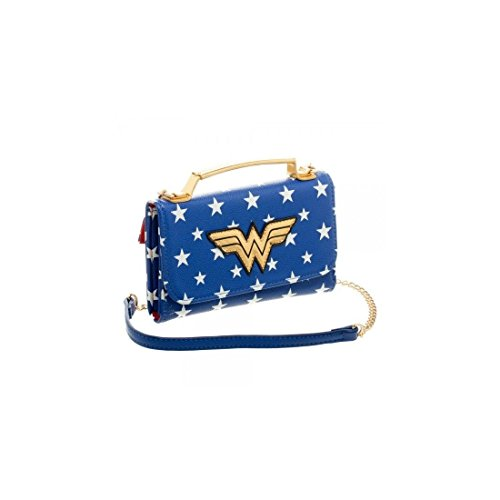 Officiel de Wonder Woman Inside Out Cross Body embrayage sac à main pochette sac de soirée