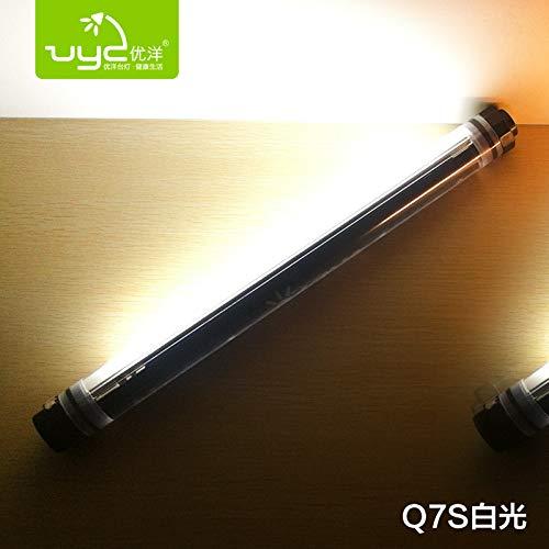 WEDFEDVUY Camping Licht Geführte imprägniern im Freienzelt Beleuchtet/kampierende Lichter/USB-Wieder Aufladbare/kampierende Lichter/Notlichter / Glühen-Magnet-hängende Lampen, Q7S (weißes Licht)