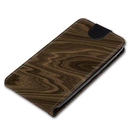 Vertikal Flip Style Handy Tasche Case Schutz Hülle Schale Motiv Etui Karte Halter für Apple iPhone 5 / 5S - Variante VER39 Design9 Design 7