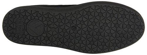 Victoria Blucher Antelina Plataforma, Damen Sneakers Schwarz (Negro)