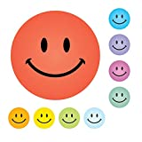 234 Smile Faces Mix Coloured Praise Stickers Teacher Parents Children