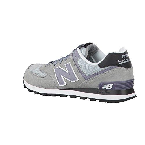 New Balance 574, Scarpe Running Uomo Multicolore (steel)