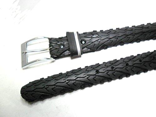 Handmade Herrengürtel aus recyceltem Fahrradreifen