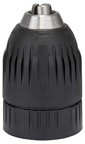 """Bosch Professional 2608572034 Schnellspannbohrfutter (2 Hülsen, Spannbereich 2-13 mm, Aufnahme 1/2\"""", Rechts-und Linkslauf, Zubehör Bohrmaschine), Mehrfarbig, bis 16 mm 1,5-13 mm, 1,3 cm (0,5 Zoll) -20"""