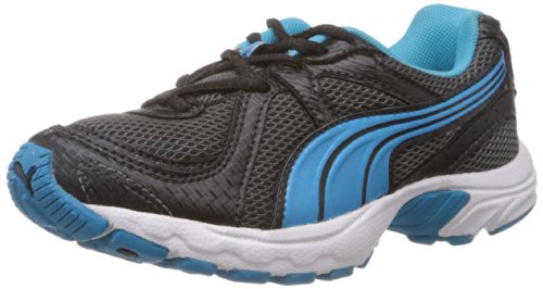 Puma Unisex Kuris Jr Ind. Black and Blue Aster Clogs and Mules - 11C UK  available at amazon for Rs.1550