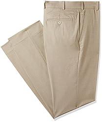 Park Avenue Mens Skinny Fit Formal Trousers (PMTQ04848-F2_Light Fawn_82)